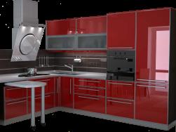Расчет стоимости сборки кухни по габаритам